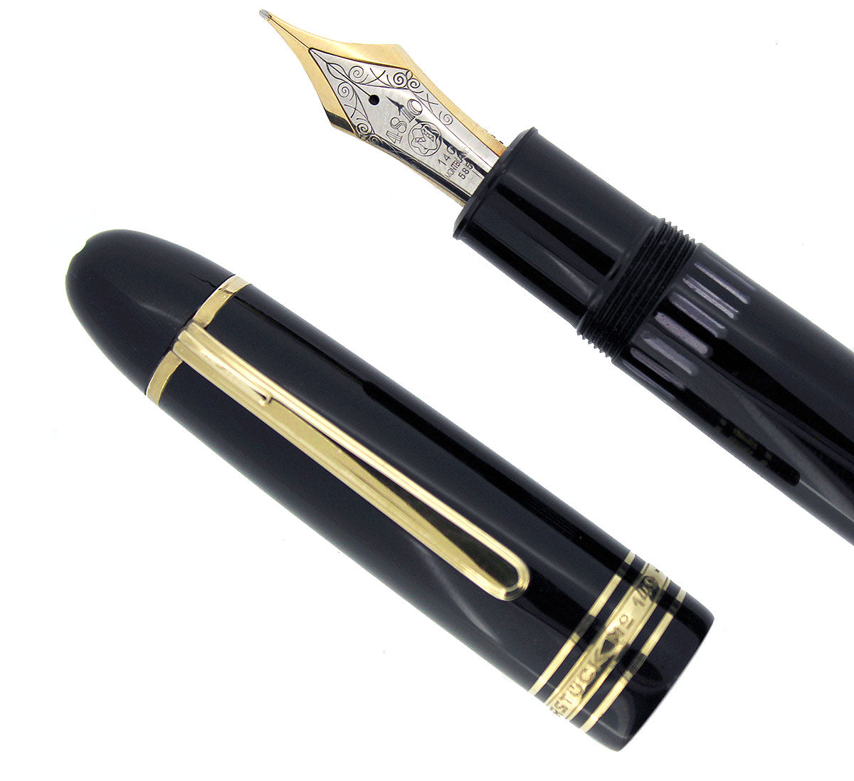 CIRCA 1973-1985 MONTBLANC MEISTERSTUCK N°149 FOUNTAIN PEN 14K NIB GERMANY OFFERED BY ANTIQUE DIGGER