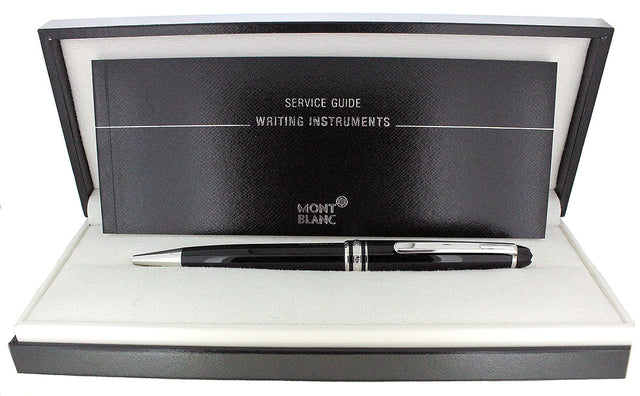 MONTBLANC MEISTERSTUCK 164 PLATINUM FINISH CLASSIQUE BALLPOINT PEN NEW IN BOX OFFERED BY ANTIQUE DIGGER