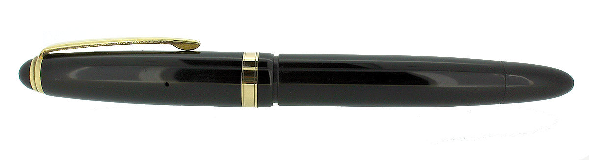 CIRCA 1951 MONTBLANC 204 FOUNTAIN PEN M to BBB 14K SMOOTH WRITING NIB RESTORED OFFERED BY ANTIQUE DIGGER