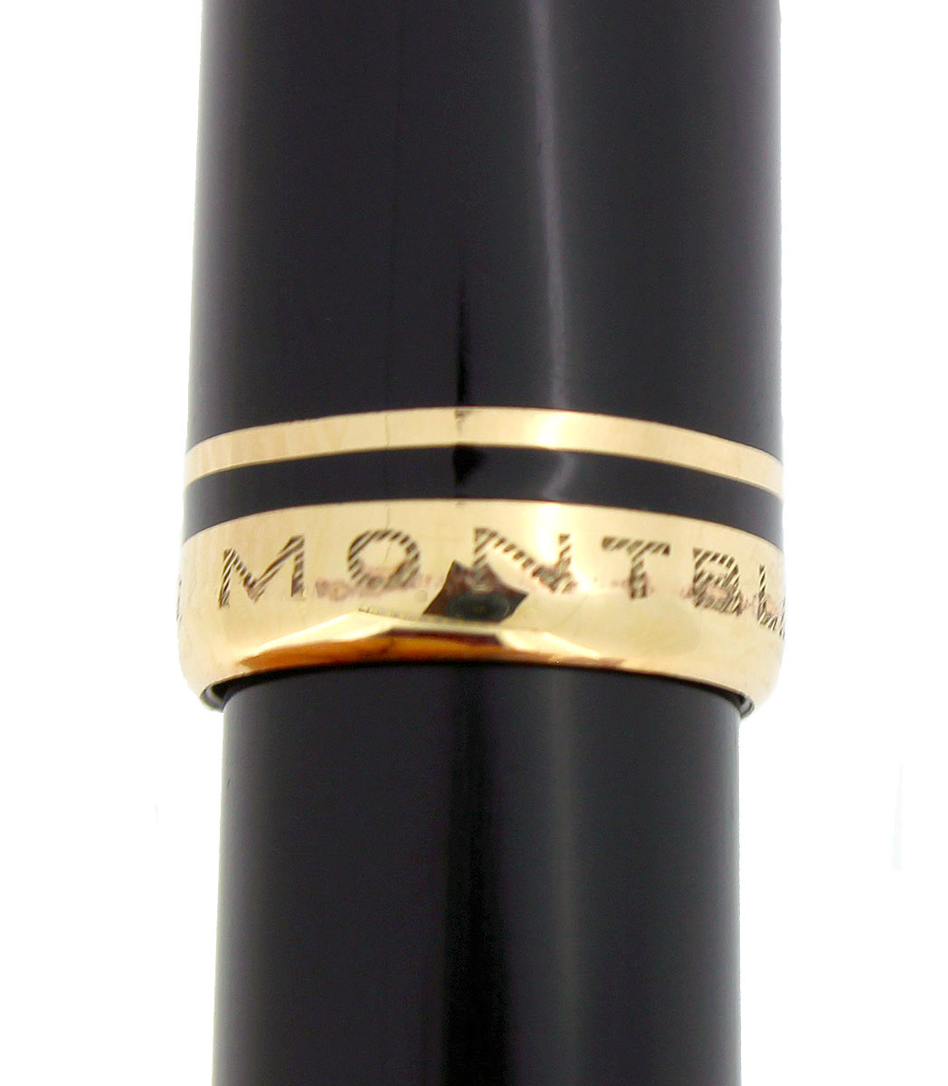 CIRCA 1957 MONTBLANC 264 FOUNTAIN PEN 14C F to BB SEMI-FLEX NIB RESTORED OFFERED BY ANTIQUE DIGGER
