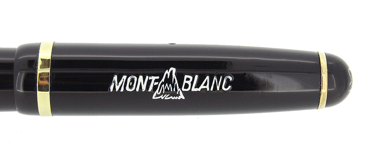 CIRCA 1951 MONTBLANC 342 FOUNTAIN PEN M to BBB SEMI-FLEX NIB RESTORED OFFERED BY ANTIQUE DIGGER