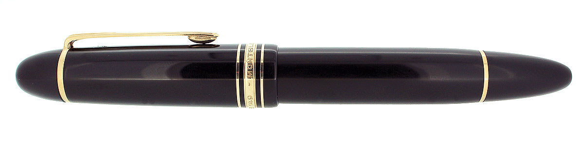 VINTAGE MONTBLANC MEISTERSTUCK N°149 FOUNTAIN PEN 14K 585 NIB GERMANY RESTORED