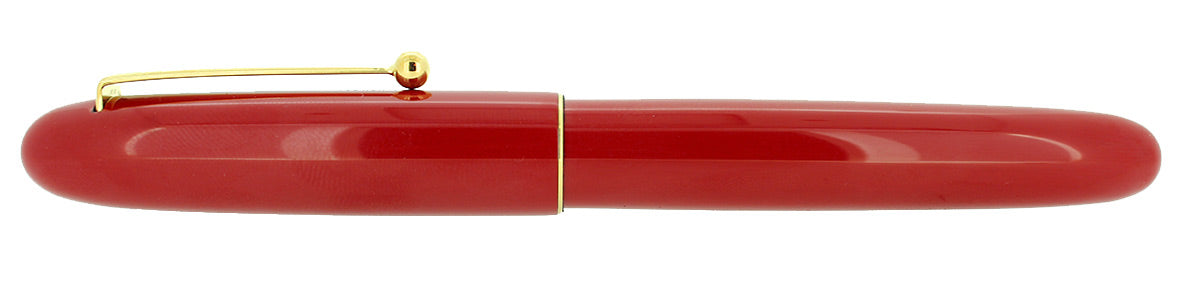 MINT NAMIKI YUKARI ROYALE VERMILION URUSHI FOUNTAIN PEN NEW OLD STOCK IN BOX OFFERED BY ANTIQUE DIGGER