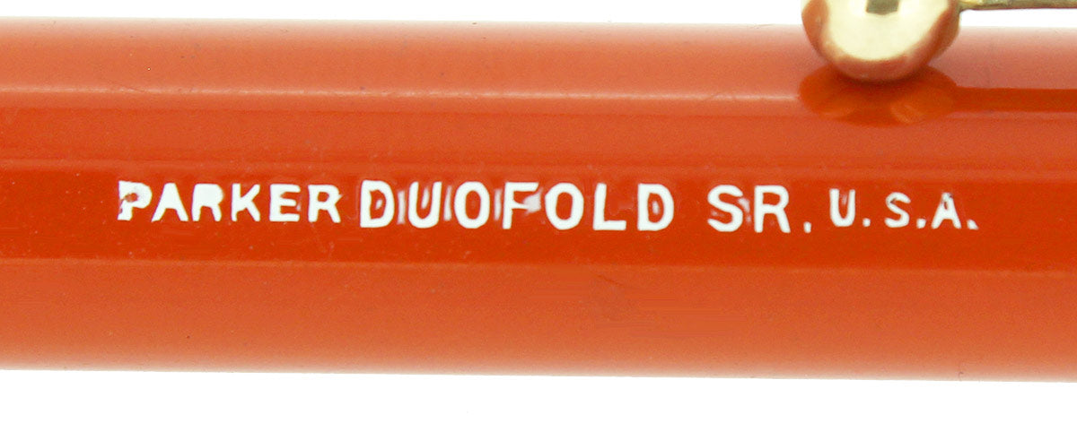 CIRCA 1924 PARKER DUOFOLD SENIOR BIG RED PENCIL NEAR MINT RESTORED OFFERED BY ANTIQUE DIGGER