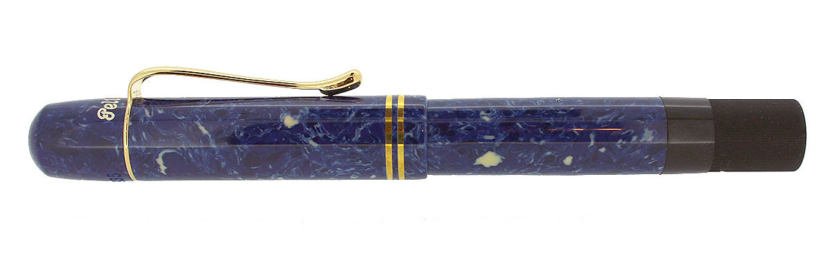 PELIKAN BLUE LAPIS 1935 ORIGINALS OF THEIR TIME FOUNTAIN PEN 18K NIB NEW OLD STOCK LIMITED EDITION OFFERED BY ANTIQUE DIGGER