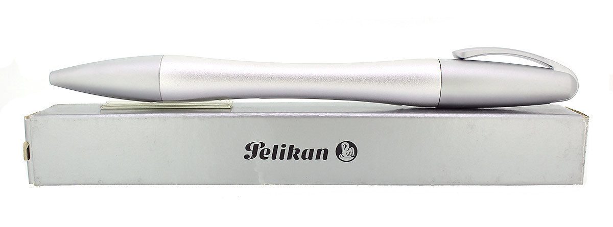 CIRCA 2007 NEW IN BOX PELIKAN K73 BELLE MATTE ALUMINUM BALLPOINT PEN OFFERED BY ANTIQUE DIGGER