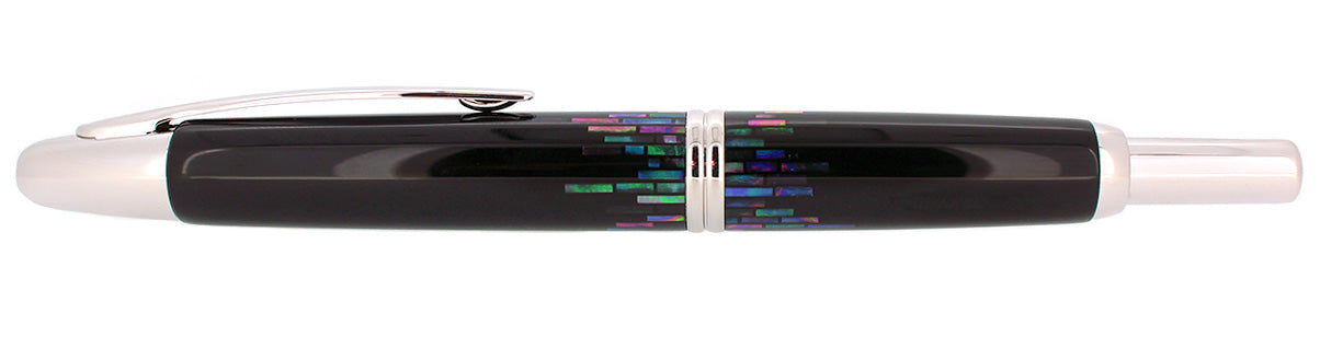 MINT PILOT NAMIKI PEN RADEN STRIPE VANISHING POINT 18K MED NIB FOUNTAIN PEN OFFERED BY ANTIQUE DIGGER