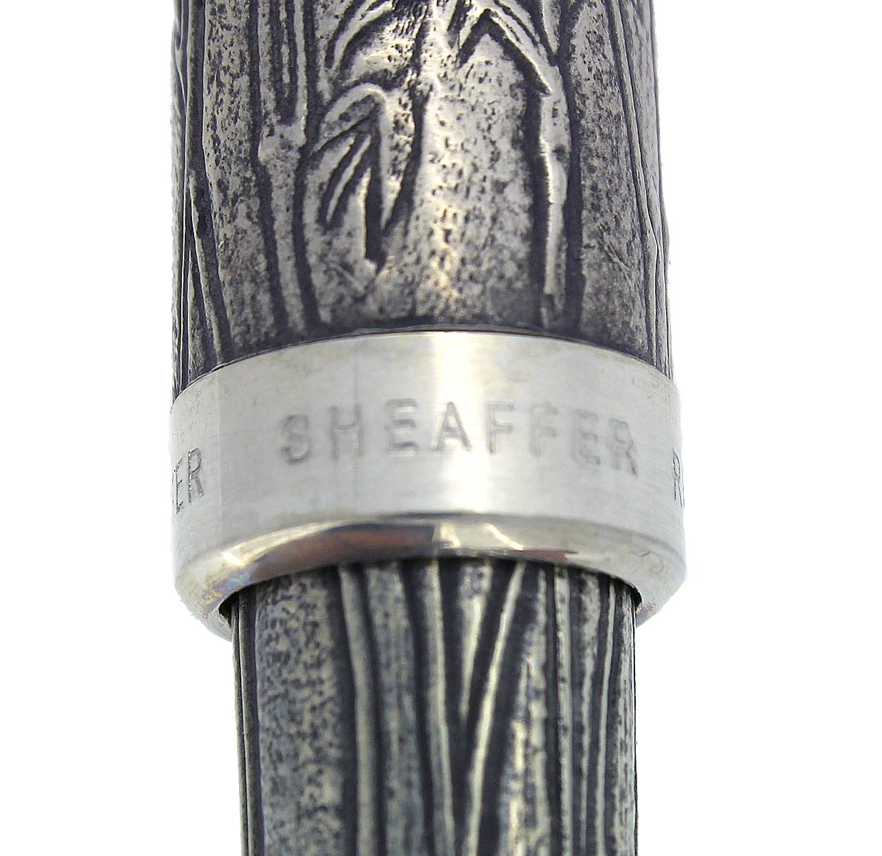 SHEAFFER ASIA SERIES BAMBOO FOUNTAIN PEN NEW IN BOX 18K FINE NIB MINT CONDITION OFFERED BY ANTIQUE DIGGER