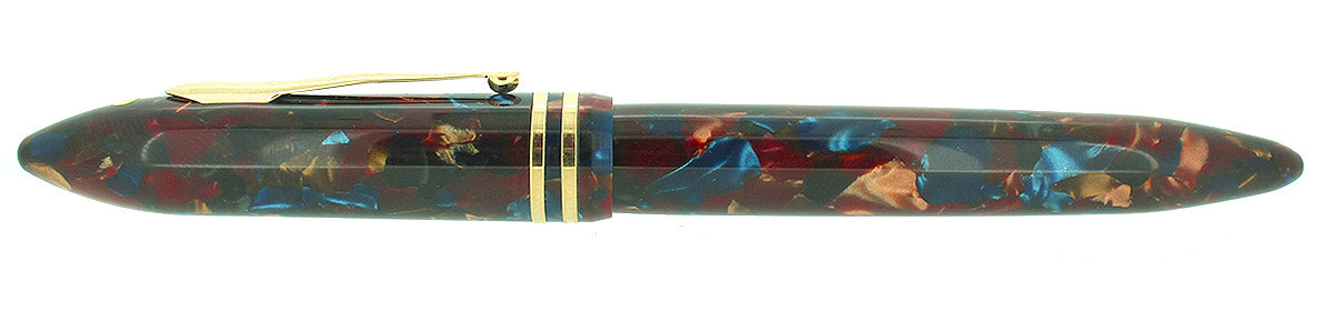 SHEAFFER BALANCE II ASPEN SPECIAL EDITION 18K MED NIB FOUNTAIN PEN NEVER INKED MINT IN BOX OFFERED BY ANTIQUE DIGGER