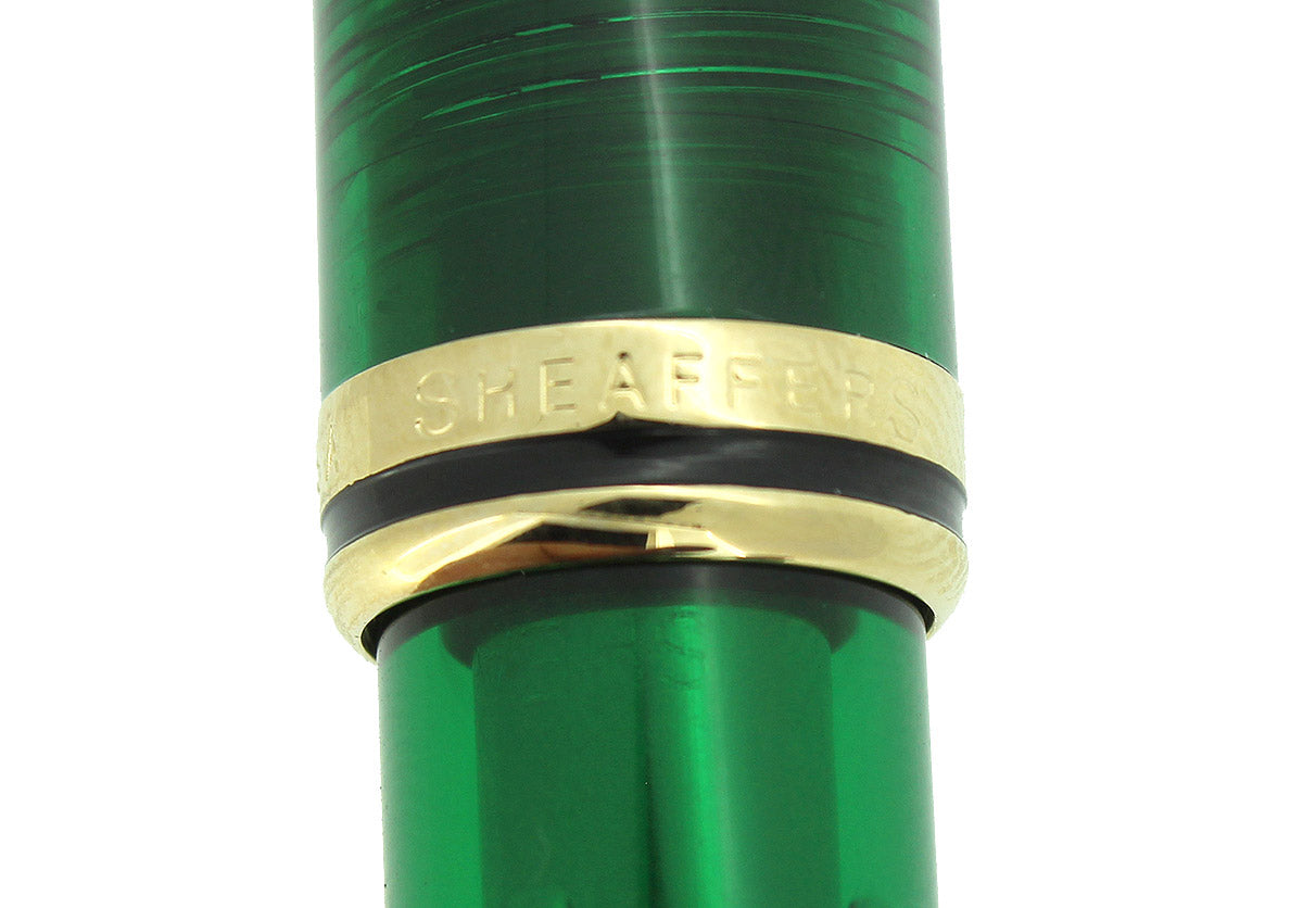 SHEAFFER CONNAISSEUR AEGEAN SEA GREEN FOUNTAIN PEN NEW OLD STOCK MINT IN BOX OFFERED BY ANTIQUE DIGGER