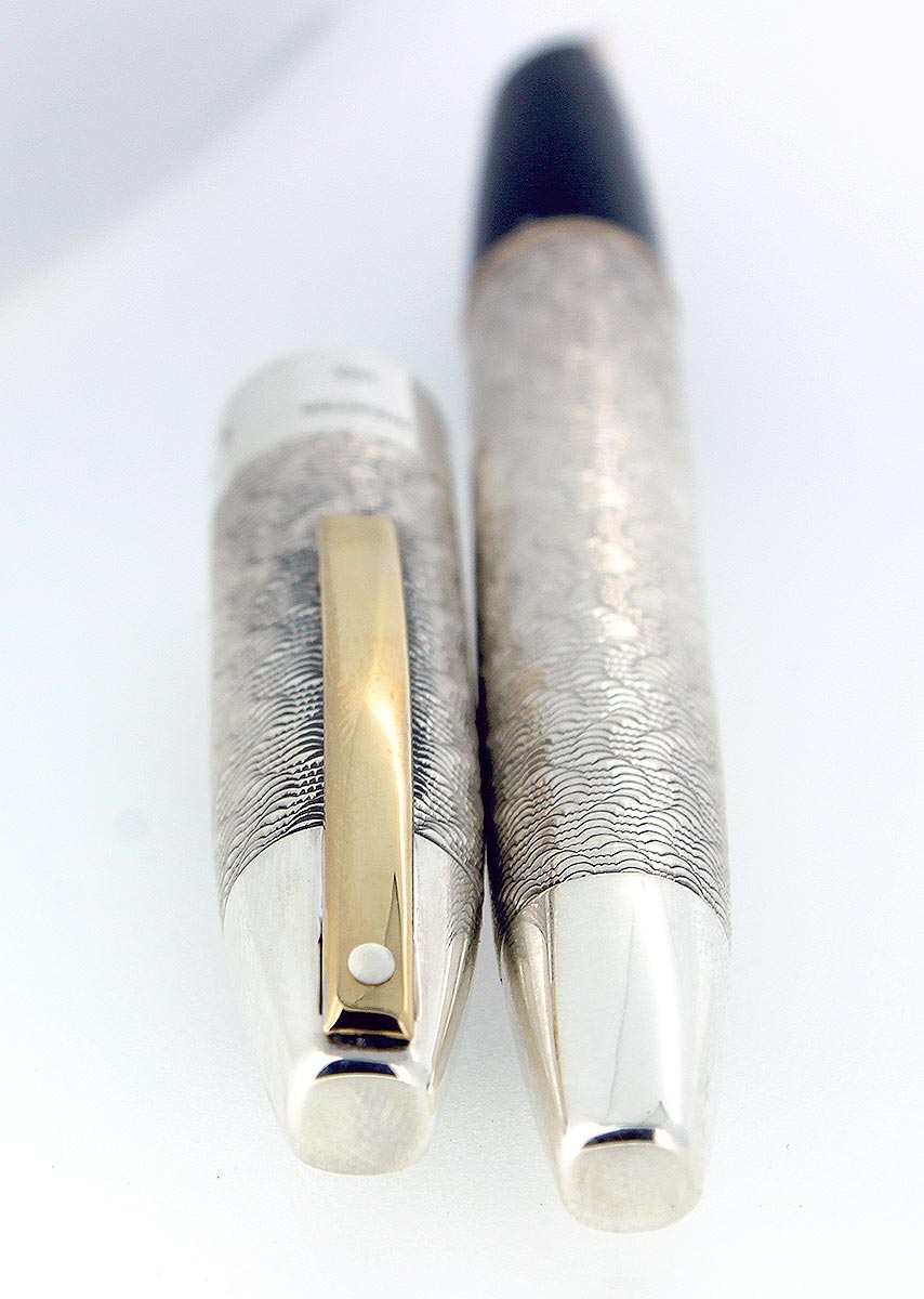 SHEAFFER LEGACY CP4 RICHMOND LIMITED EDITION STERLING SILVER FOUNTAIN PEN MINT OFFERED BY ANTIQUE DIGGER