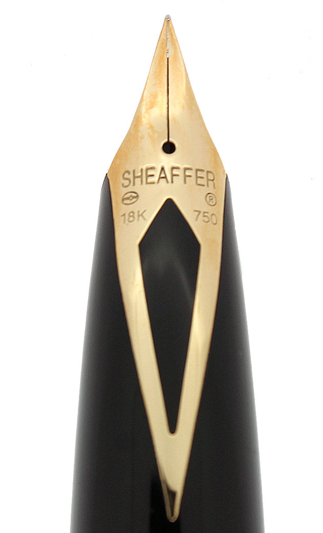 CIRCA 1997 SHEAFFER LEGACY STERLING FOUNTAIN PEN BARLEYCORN 18K EXTRA FINE NIB NEVER INKED OFFERED BY ANTIQUE DIGGER