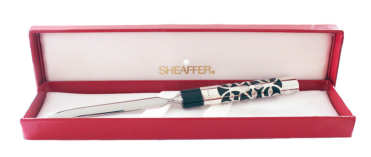 C1992 SHEAFFER NOSTALGIA STERLING SILVER LETTER OPENER NEW IN BOX NEW OLD STOCK OFFERED BY ANTIQUE DIGGER