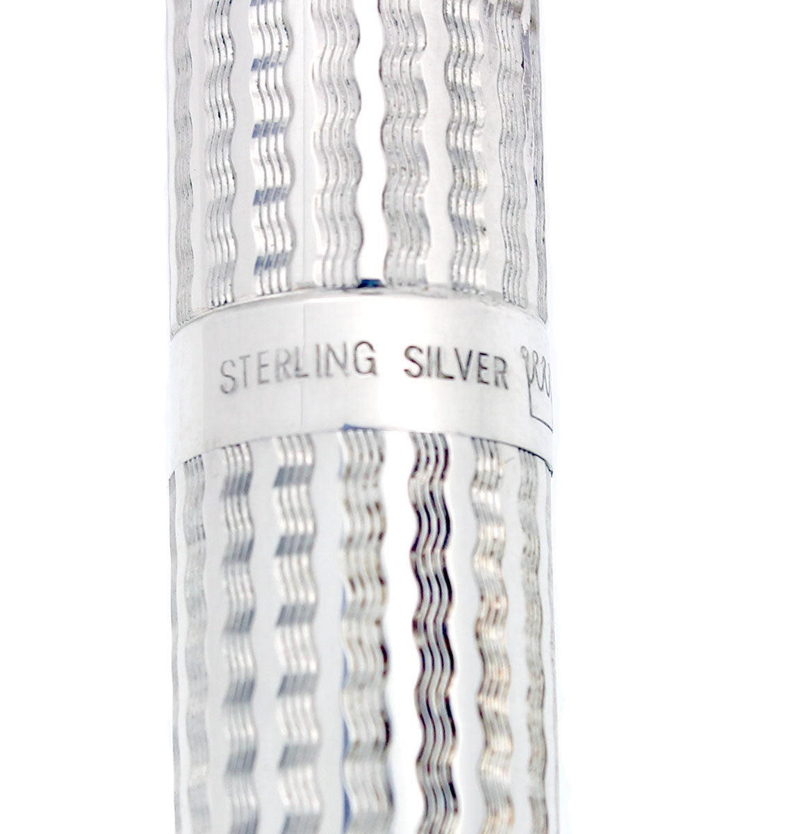 SHEAFFER TARGA CP1 LIMITED EDITION 220/250 STERLING SILVER FOUNTAIN PEN MINT NOS OFFERED BY ANTIQUE DIGGER