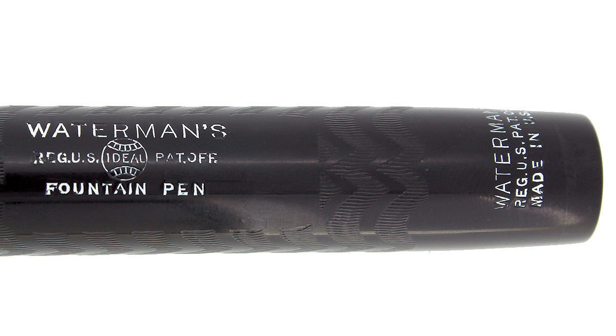 1920S WATERMAN 58 BCHR FOUNTAIN PEN F TO BBB 14K FLEXIBLE NIB RESTORED NEAR MINT OFFERED BY ANTIQUE DIGGER