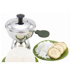 Chiratta Puttu Maker Stainless Steel Use with Pressure Cooker Easy&Fast Cooking