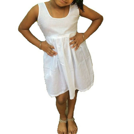 Princess Extra Smooth Premium Full Slip Petticoat - 2 Pcs,100% Cotton Innerwear for Kids-Teens,Export Quality Premium Cotton Slips,Cool and Breathable,Hygenic Chemise