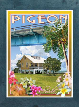 Pigeon Key Poster to Aid Restoration of Old Seven