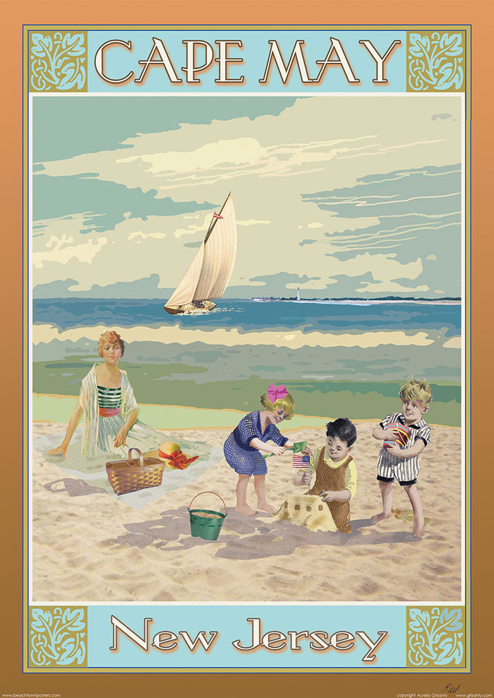 Cape May, New Jersey (Vintage)