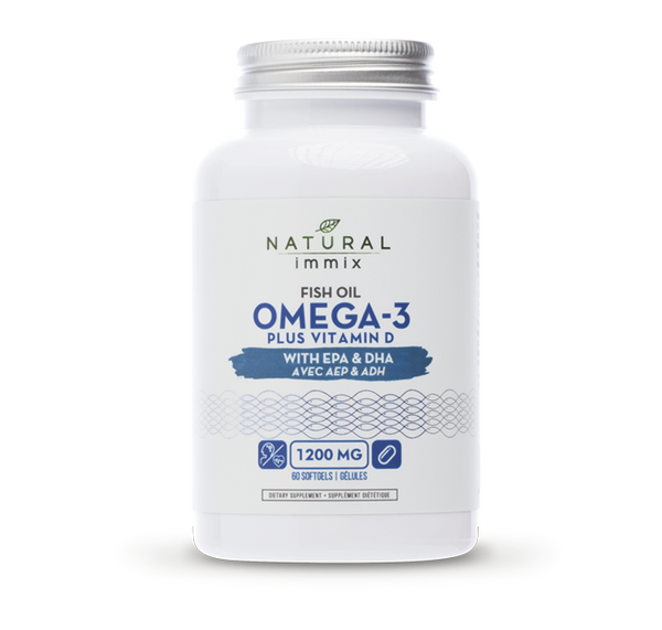 Fish Oil Omega-3 Plus Vitamin D