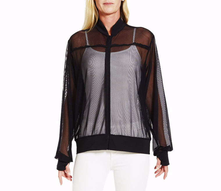 Resort Mesh Ladies Track Jacket