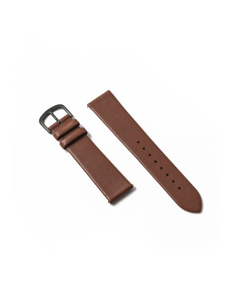 Premium Italian Leather Strap - Brown