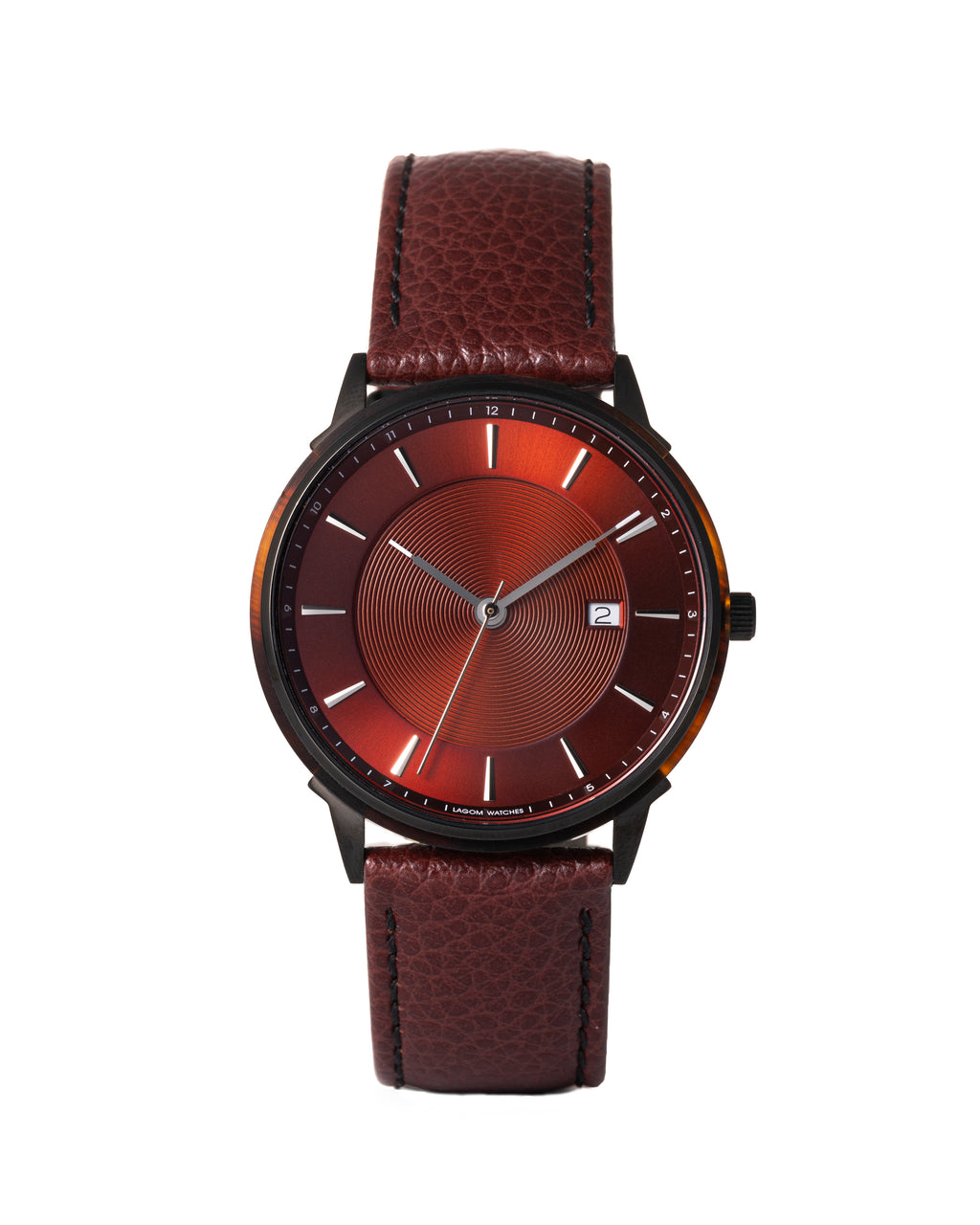 LW105-Black.MahoganyRed.BrownLizard