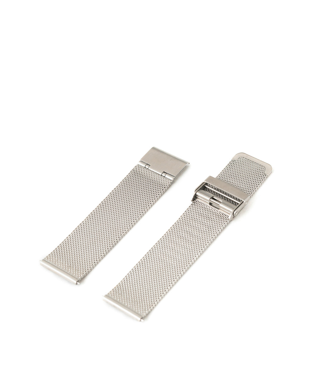 Premium Stainless Steel Mesh Strap - Silver