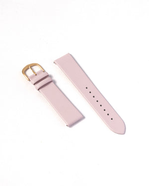 Premium Italain Leather Strap - Pink