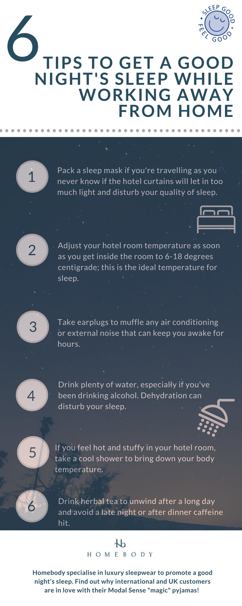 6 Steps to a Better Night