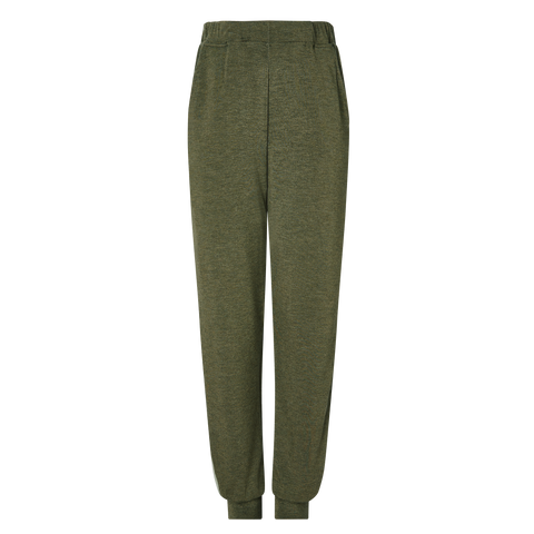 Boys Contrast Stripe Pants - Jungle/Sage