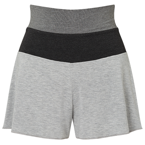 Flippy Shorts - Light Grey/Charcoal/Mid Grey