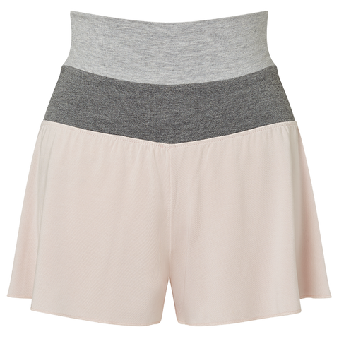 Flippy Shorts - Blush Pink/Mid Grey/Light Grey
