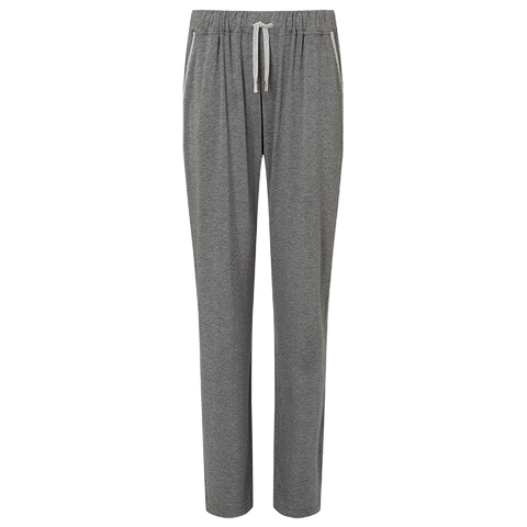 Boyfriend Lounge Trousers - Mid Grey/Light Grey
