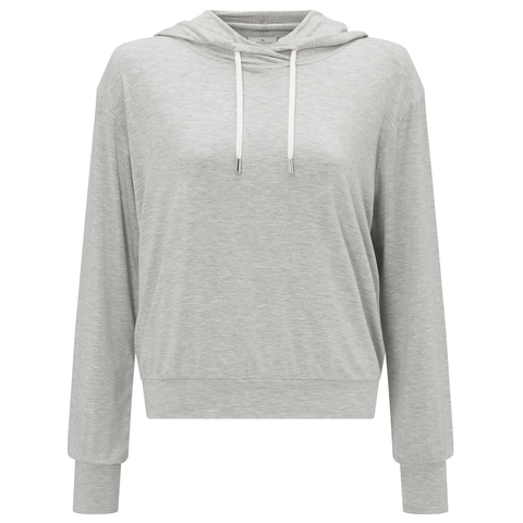 Jersey Travel Hoodie - Light Grey