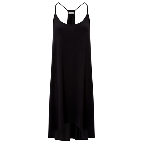 Luxurious Camisole Nightie- Black