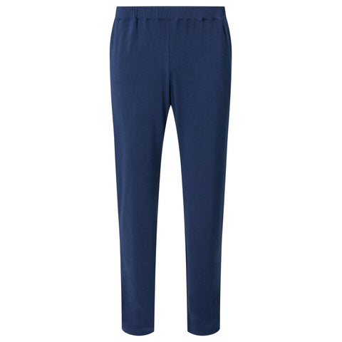 Contrast trousers - Navy Blue Marl