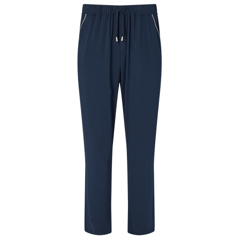 Contrast Pyjama Trouser - Pacific Navy/Mid Grey
