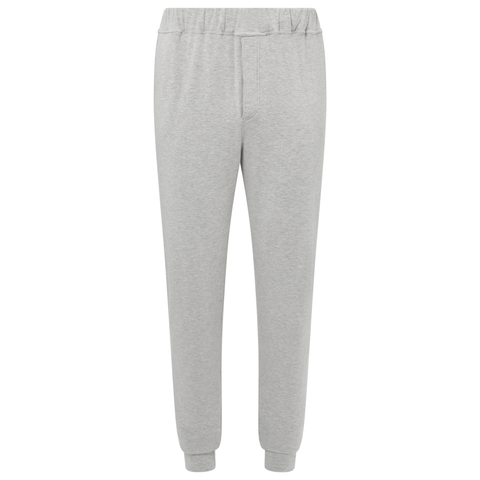 Jersey Snuggle Tracksuit Trousers- Light Grey