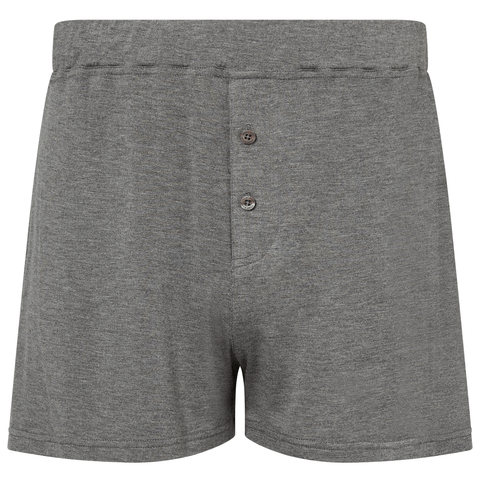 Jersey Boxer Shorts - Mid Grey