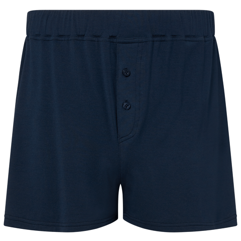 Jersey Boxer Shorts - Pacific Navy