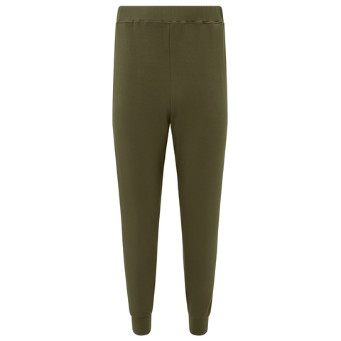 Jersey Cuffed Trousers - Camo
