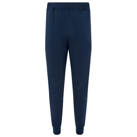 Jersey Cuffed Trousers - Pacific Navy