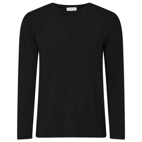 NEW - Long Sleeve Pyjama T-Shirt - Black