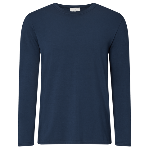 Long Sleeve Pyjama T-Shirt - Pacific Navy