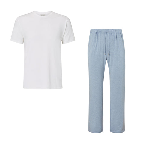 SET - Classic Short Sleeve T-shirt/ Trouser Pyjama