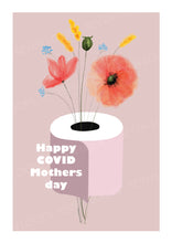 Covid Mothers Day greeting card instant digital download
