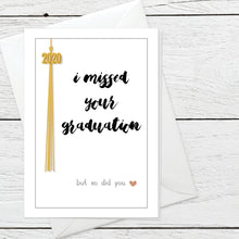 Missed Graduation greeting card instant digital download