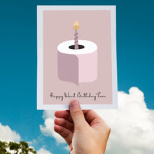 Pink Birthday greeting card instant digital download