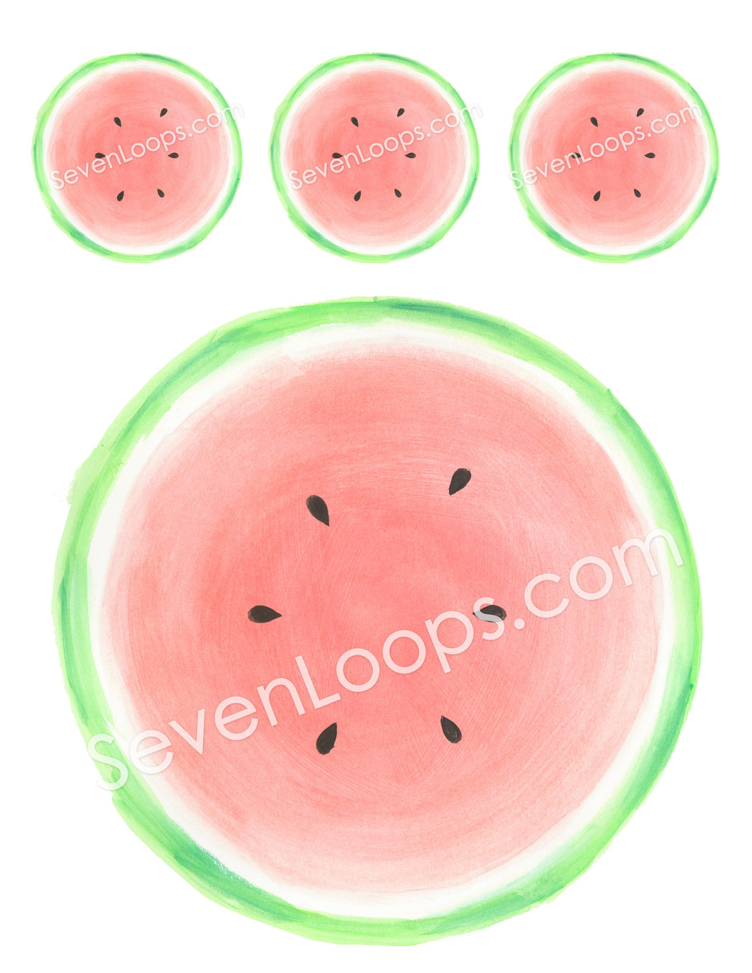 Watermelon digital download